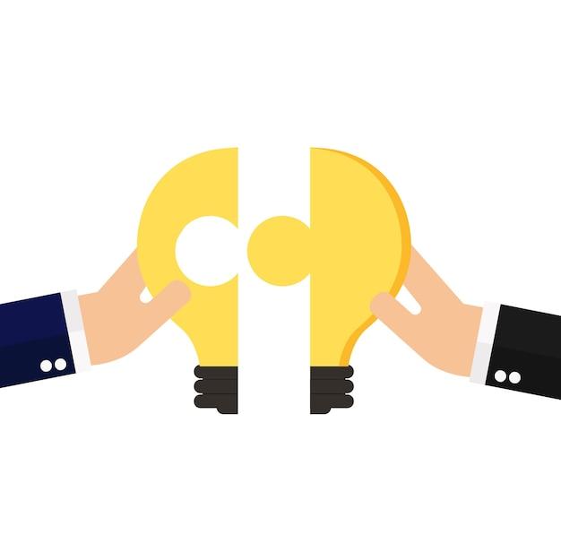 Conexão de ideia de negócio