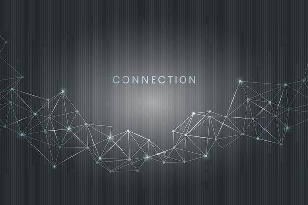 Conexão de mídia social