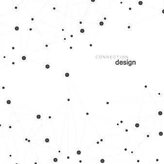 Conexão de rede e design do átomo