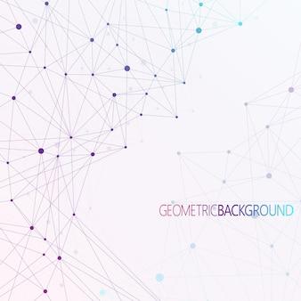 Conexão de rede global. a comunicação da rede social no negócio global. conceito de composição de linha e ponto de mapa mundial. ilustração vetorial.