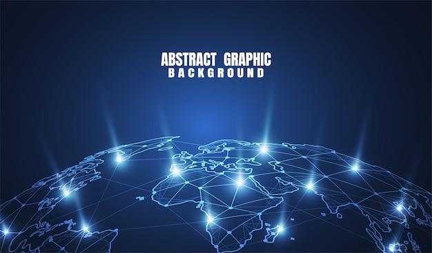 Conexão de rede global.