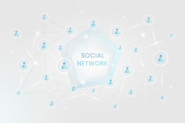 Conexão de rede social