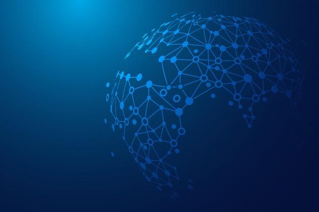 Conexão do conceito mundial