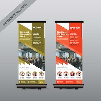 Conferência abstrata arregaçar banner