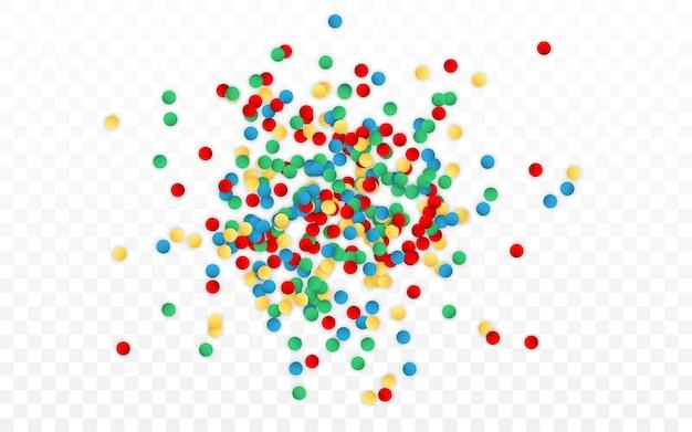 Confete de glitter brilhante de carnaval de celebração