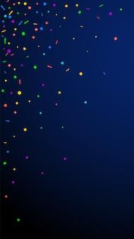 Confete deslumbrante festivo