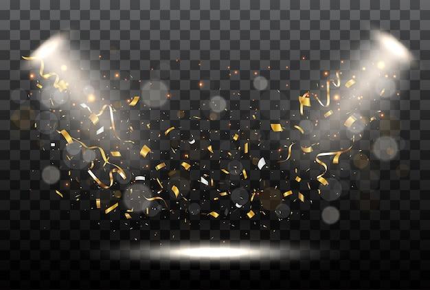 Confete dourado