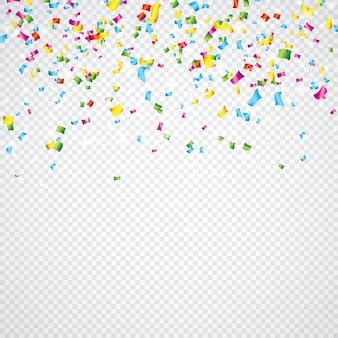 Confetti colorido