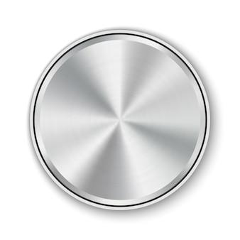 Configurações de tecnologia de nível de botão de discagem, botão de metal.