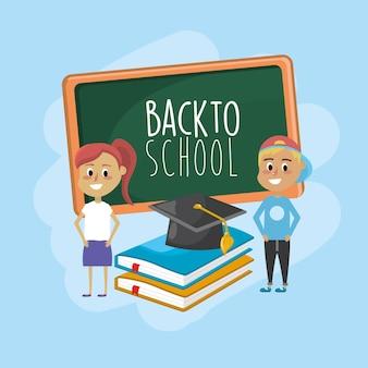 Conhecimento dos alunos para a educação e aprender coisas