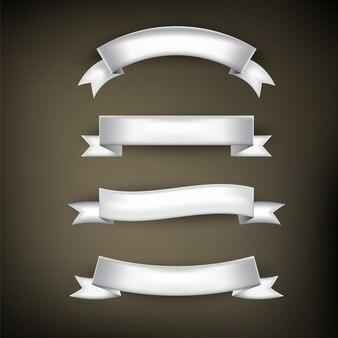 Conjunto básico de fita, cor prata