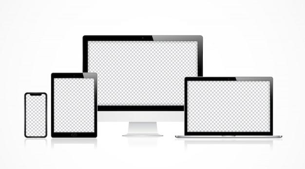 Conjunto computador moderno