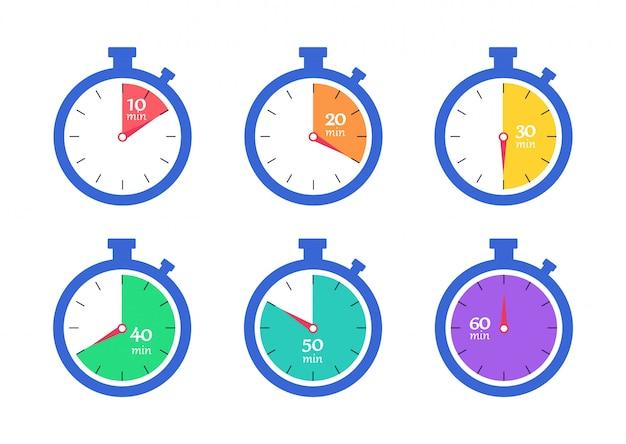Conjunto cronômetro