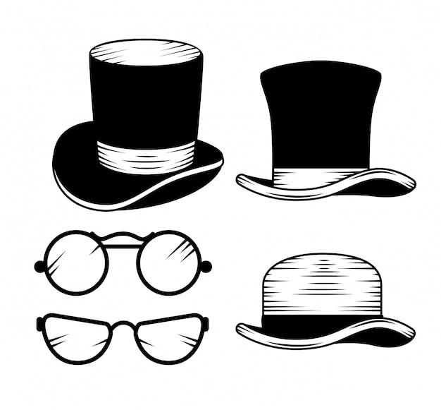 Conjunto de acessórios de moda masculina