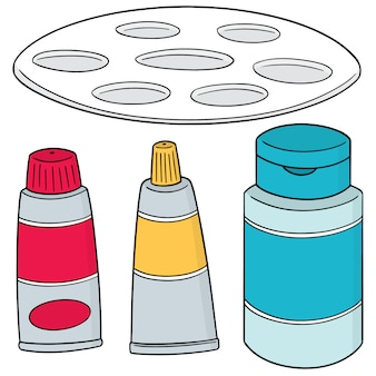 Conjunto de acessórios de pintura
