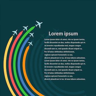 Conjunto de aeronaves