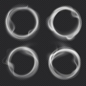 Conjunto de anéis de fumaça