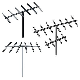 Conjunto de antenas