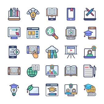Conjunto de apartamentos de aprendizagem on-line