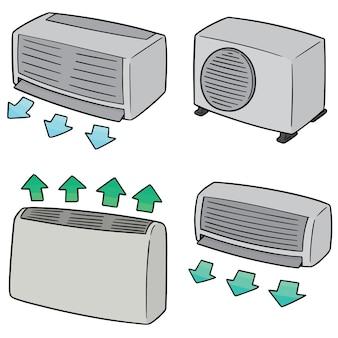 Conjunto de ar condicionado