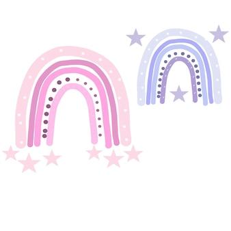 Conjunto de arco-íris escandinavo