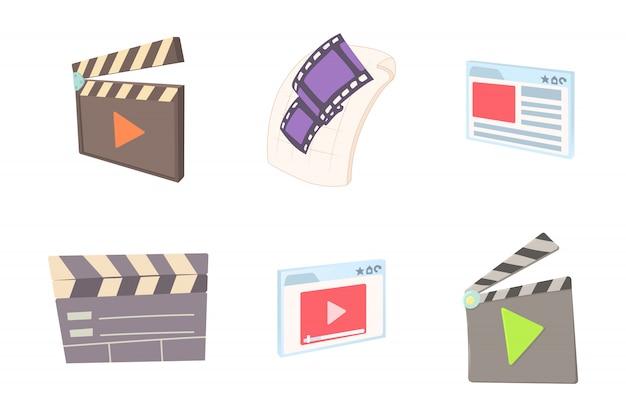 Conjunto de arquivos de vídeo