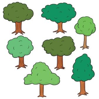 Conjunto de árvores