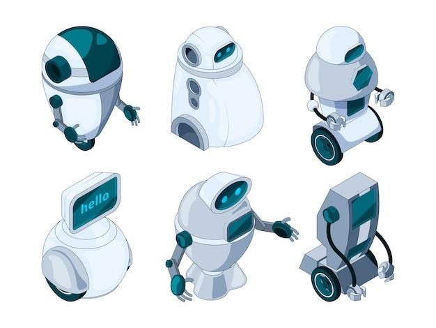 Conjunto de assistente de robôs