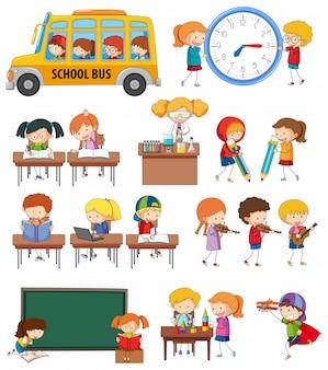 Conjunto de atividade estudantil