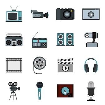 Conjunto de áudio e vídeo