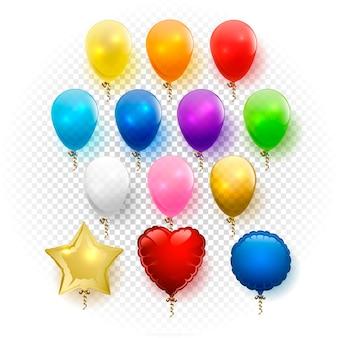 Conjunto de balões