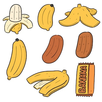 Conjunto de banana