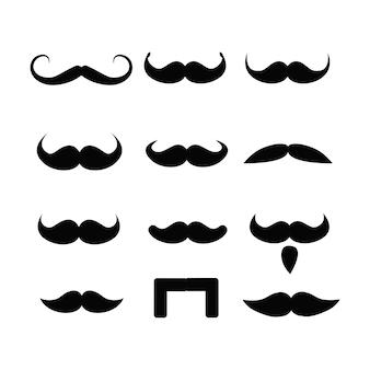 Conjunto de barbas e bigodes para se divertir