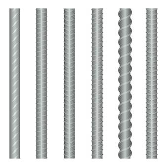 Conjunto de barras de aço sem costura