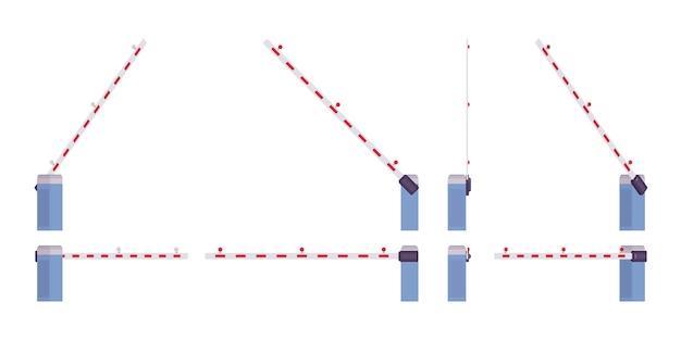 Conjunto de barreira de barreira automática