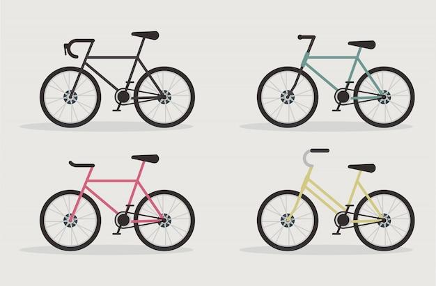 Conjunto de bicicleta de estrada