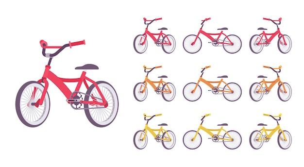 Conjunto de bicicleta infantil