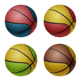 Conjunto de bolas de basquete