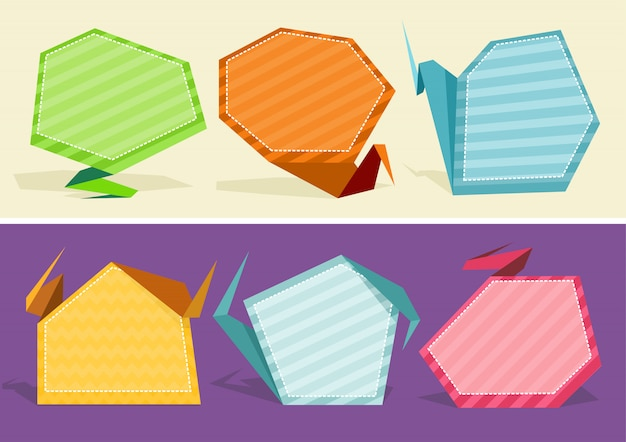 Conjunto de bolhas e elementos em quadrinhos