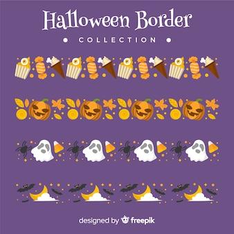 Conjunto de borda de halloween