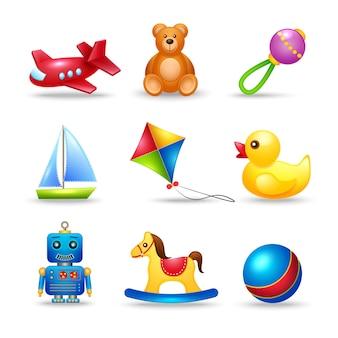 Conjunto de brinquedos para bebês