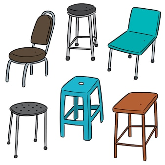 Conjunto de cadeira