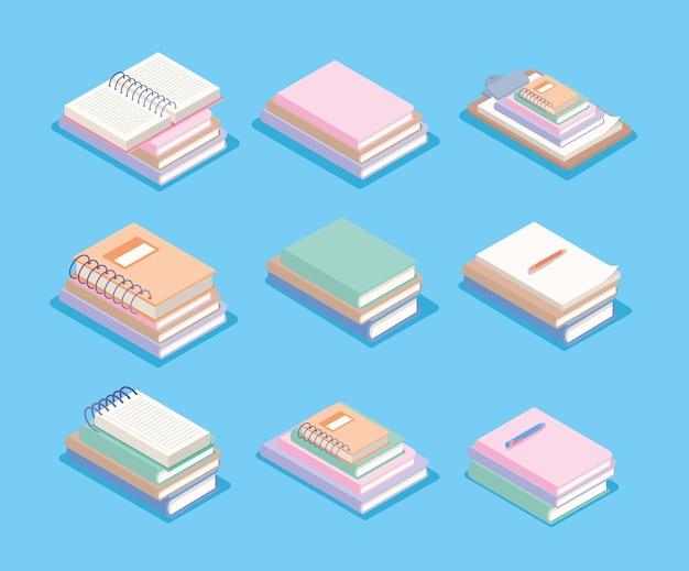 Conjunto de cadernos