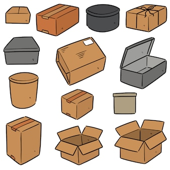 Conjunto de caixa