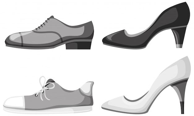 Conjunto de calçado