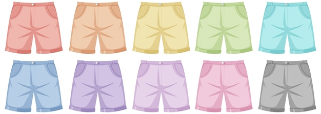 Conjunto de calças masculinas