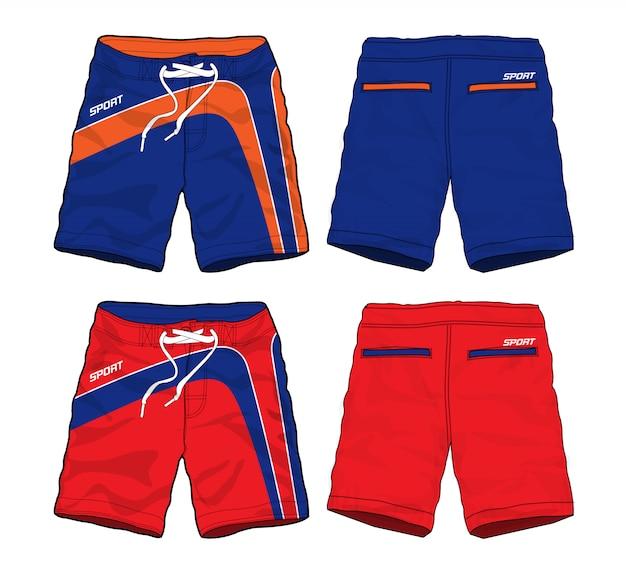 Conjunto de calções sport