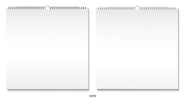 Conjunto de calendário