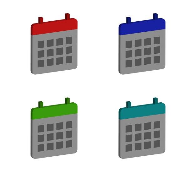 Conjunto de calendários