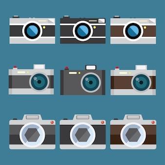 Conjunto de câmera compacta e câmera sem espelho